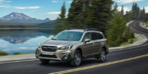Объявлены российские цены на новый Subaru Outback