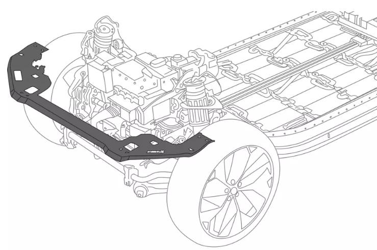 Jaguar I-Pace оснастили рамой радиатора изпереработанного пластика