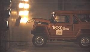 Краш-тест внедорожника «Сталкер» на базе Lada 4x4 показали на видео