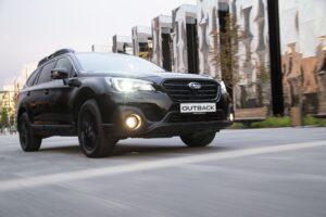 Subaru готовит спецверсию Subaru Outback Black Line для России