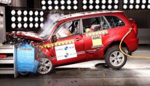 Кроссовер Chery Tiggo 3 «провалил» краш-тест
