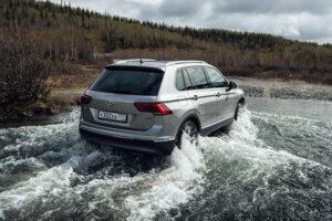 Volkswagen Tiguan получил в РФ новую «зимнюю» спецверсию