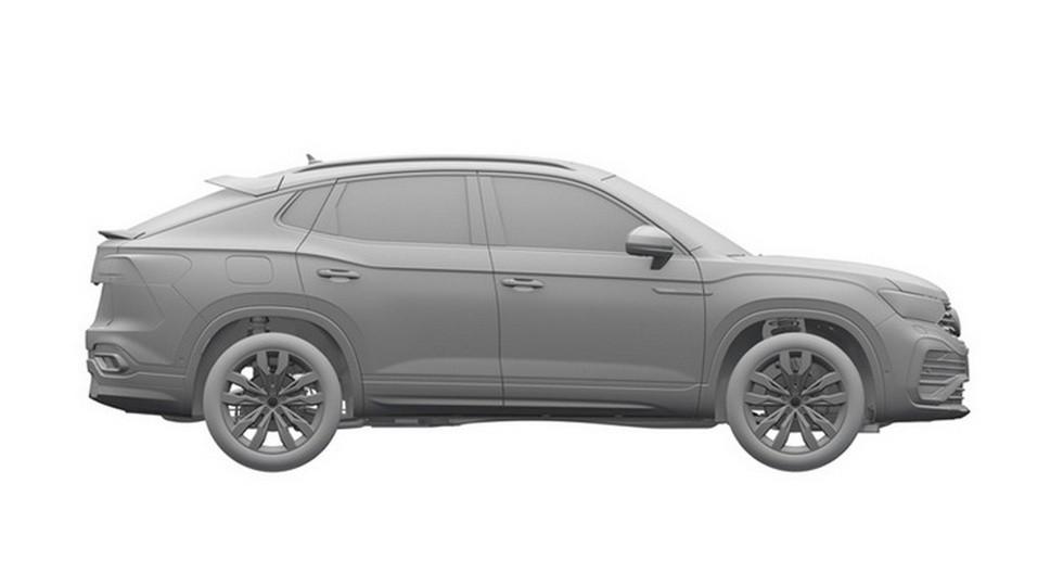 У Volkswagen появится кроссовер с двумя спойлерами
