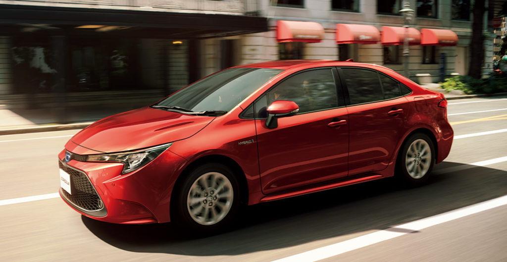 Легендарная Toyota Corolla уменьшилась вразмерах для японского рынка