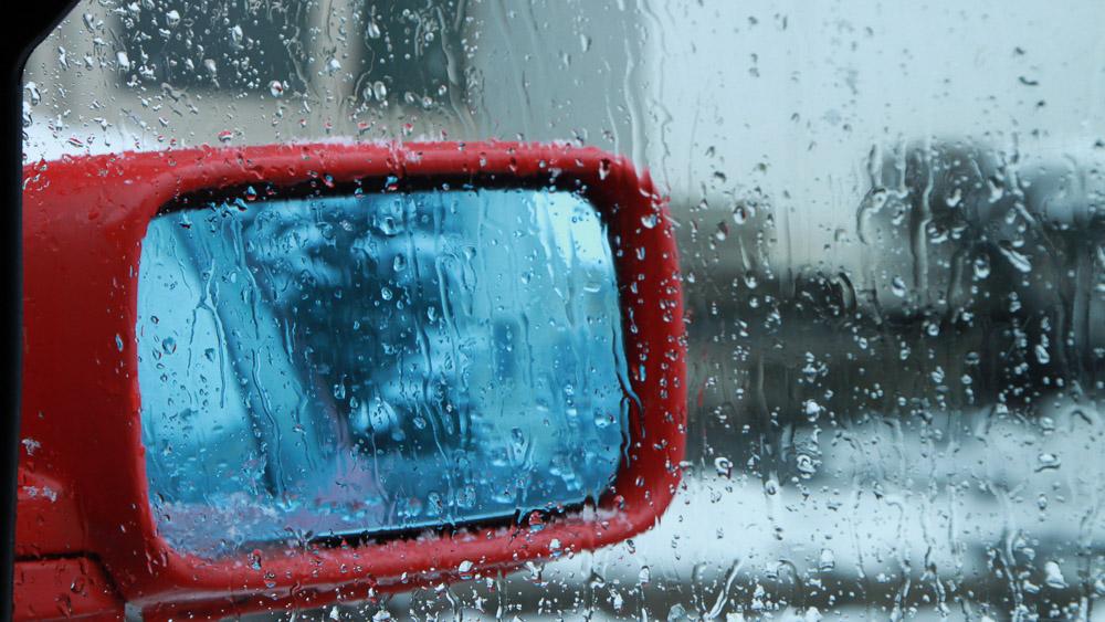 Окно автомобиля