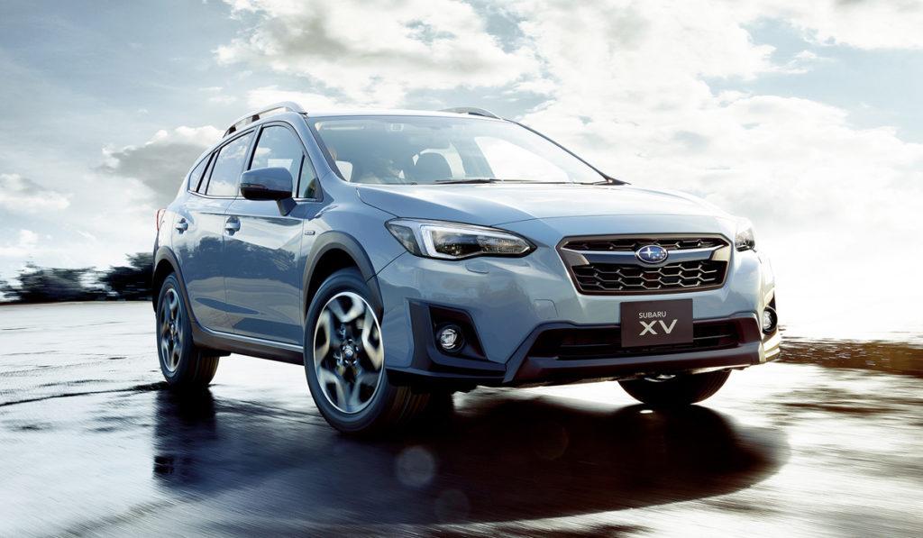 Subaru презентовала модернизированный кросс XV