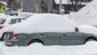 Парковка зимой. Фото The Photographer