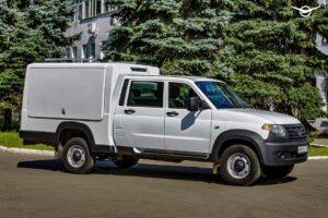 УАЗ выпустит необычный фургон на базе УАЗ «Профи»