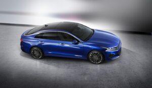 Kia показала первые изображения серийной Kia Optima нового поколения