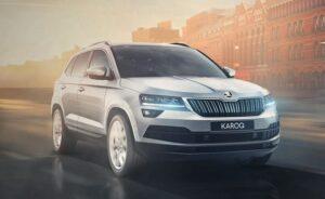 Назвали комплектации кроссовера Skoda Karoq в России