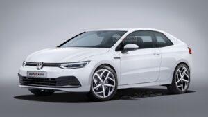 Появились первые изображения возрожденного Volkswagen Corrado