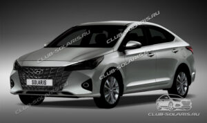 Обновленный Hyundai Solaris. Фото Solaris Club