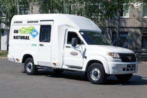 УАЗ представил семейный автомобиль на базе УАЗ «Профи»