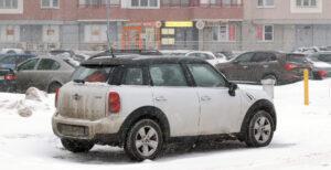 Автомобиль зимой. Фото Moscow-Live.ru