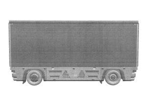 "Безкабинный грузовик ""КамАЗ"". Фото Роспатент"