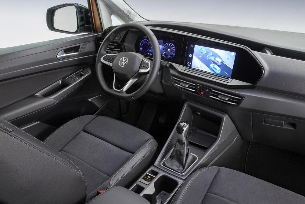 Интерьер Volkswagen Caddy. Фото Volkswagen