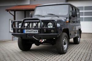 UAZ Hunter Spartan. Фото MW Motors