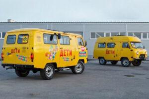 Школьный автобус УАЗ. Фото пресс-служба УАЗа