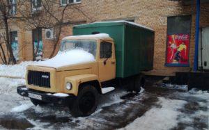 Старый грузовик. Фото Moscow-Live.ru