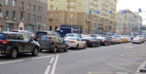 Трафик в Москве. Фото Moscow-live.ru