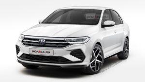 В Сети появились изображения нового Volkswagen Polo для РФ