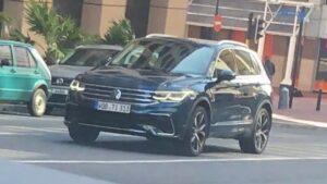 Volkswagen Tiguan. Фото www.instagram.com/cochespias