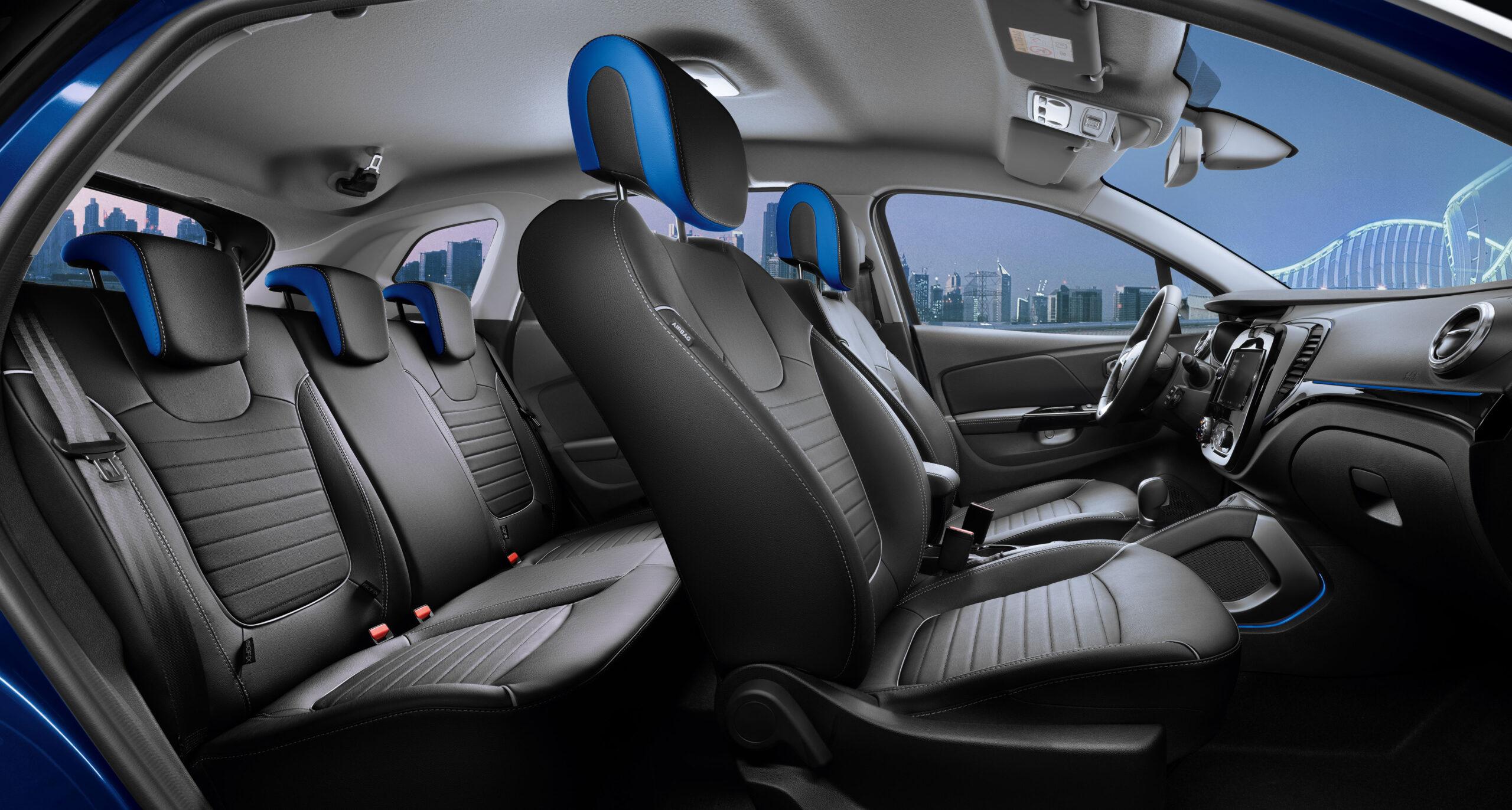 Интерьер Renault Kaptur. Фото Renault