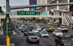 Трафик в Лас-Вегасе. Фото Tony Webster