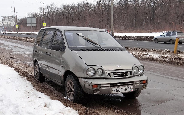 В Сети напомнили о минивэне Lada Kalina - Автоновости дня