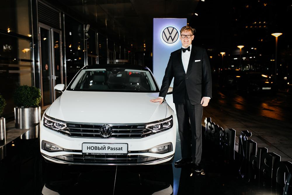 Обновленный Volkswagen Passat. Фото Volkswagen