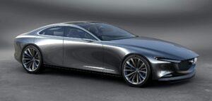Mazda Vision Coupe Concept. Фото Mazda