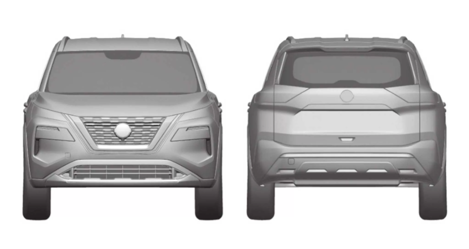 Патентное ведомство Бразилии Nissan X-Trail