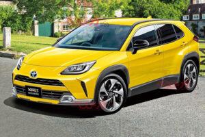 Появились характеристики нового кроссовера Toyota