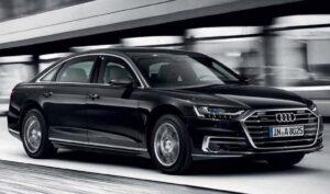Audi A8L Security. Фото Audi