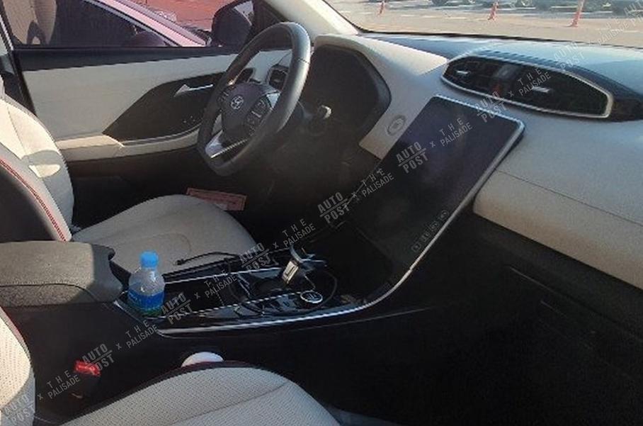 Интерьер нового Hyundai Santa Fe. Фото thekoreancarblog.com