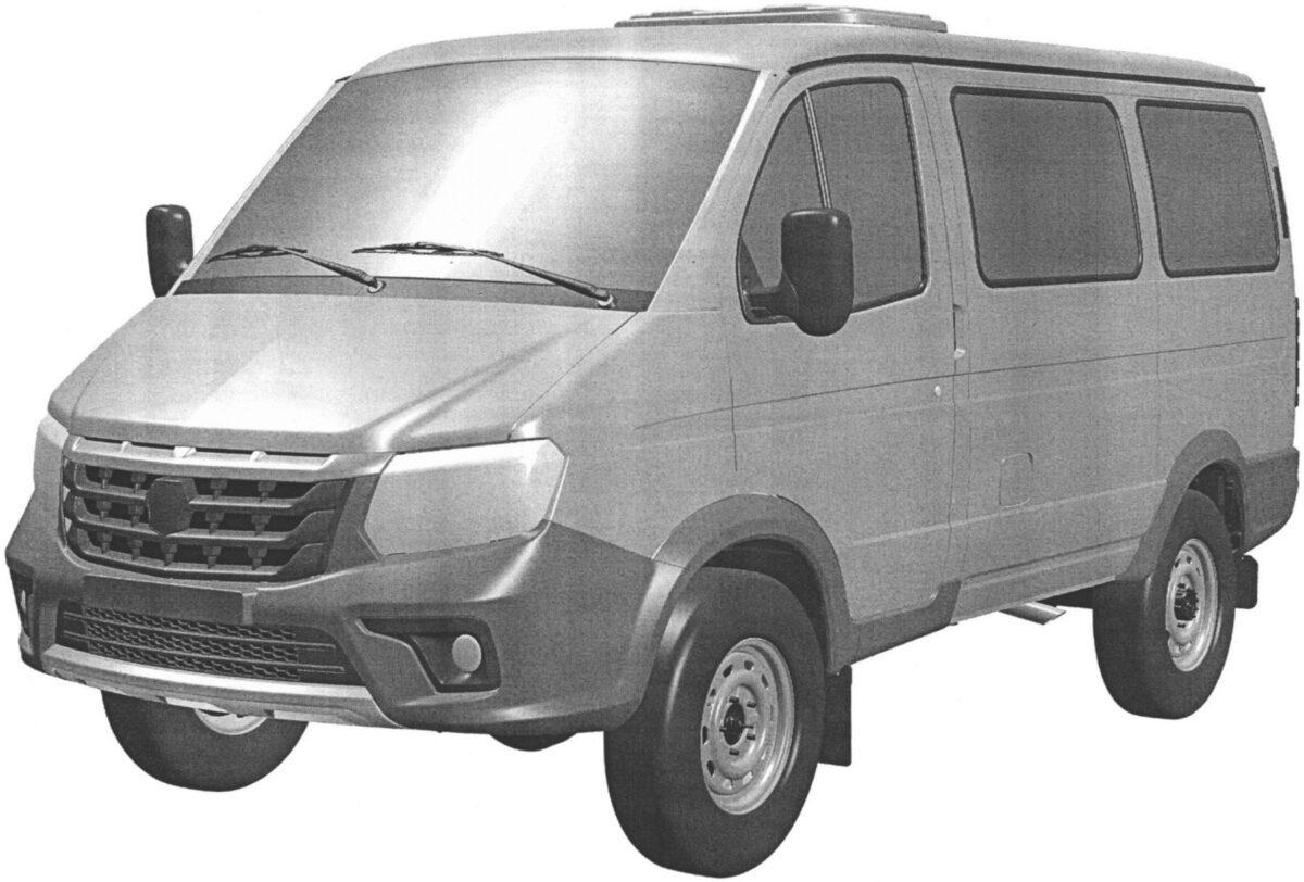 Обновленный ГАЗ'Соболь
