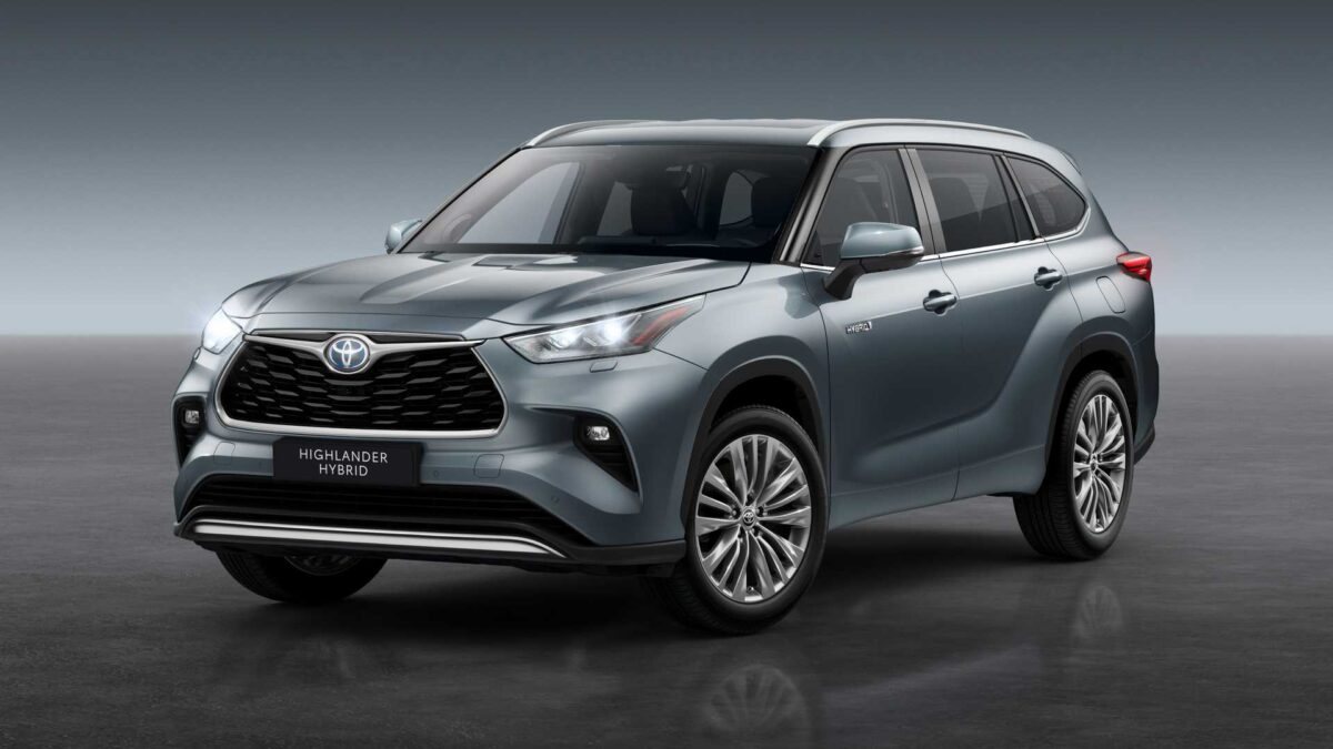 Toyota Highlander для Европы