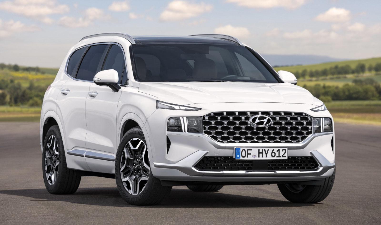 Hyundai назвала комплектации нового 7-местного Santa Fe