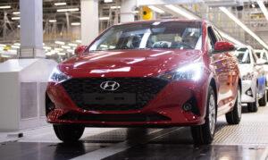 Производство Hyundai Solaris. Фото Hyundai
