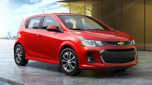 Chevrolet Sonic/Aveo. Фото Chevrolet