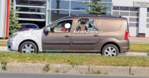 Фургон LADA Largus FL. Фото AvtoVAZ News