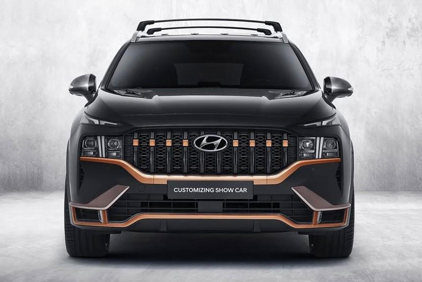 Hyundai Santa Fe N Perfomance