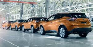 Производство Nissan Murano. Фото Nissan