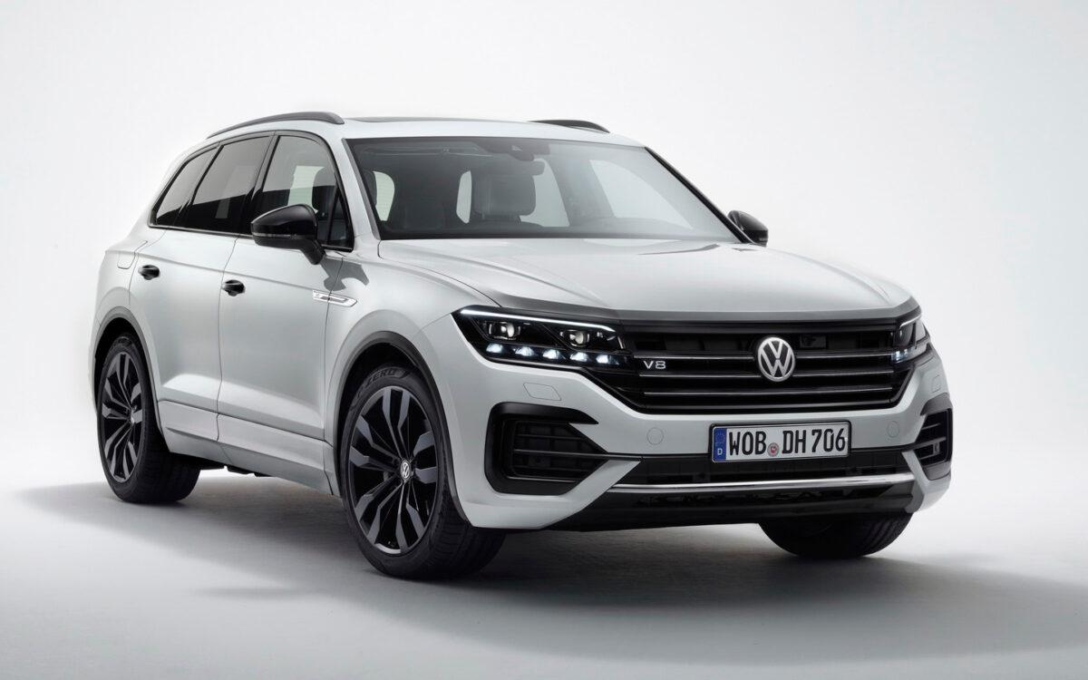 VW Touareg получил прощальную версию