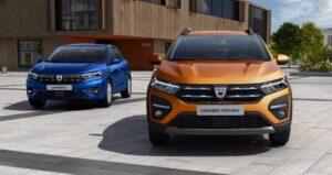 Dacia Sandero и Sandero Stepway. Фото Dacia