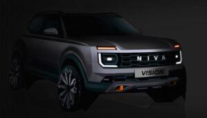Прототип новой LADA Niva. Фото АвтоВАЗ
