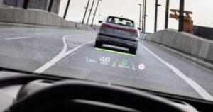 Проекционный дисплей Audi Q4 e-tron. Фото Audi