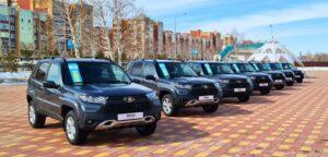 LADA Niva Travel в Казахстане. Фото АвтоВАЗ