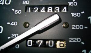 Одометр. Фото Amancay Blank