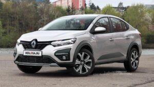 Новый Renault Logan Stepway. Рендер Колёса.ру